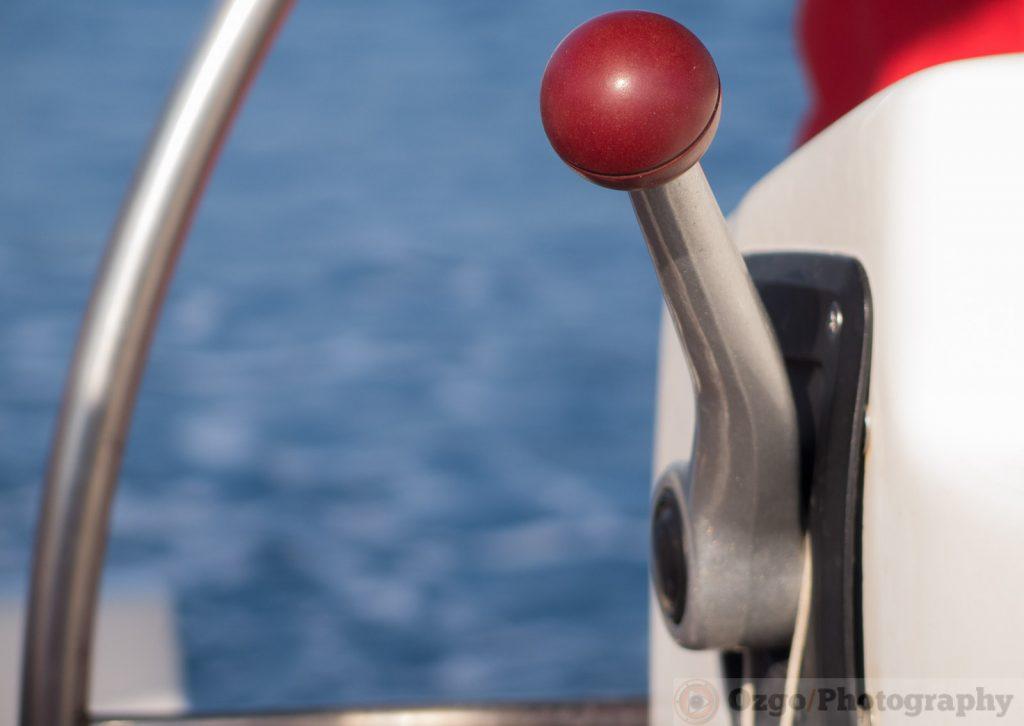 Boat control leaver