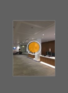 Hold the phone vertically and target the orange dot, rotating in a circle until I cover the full sphere.